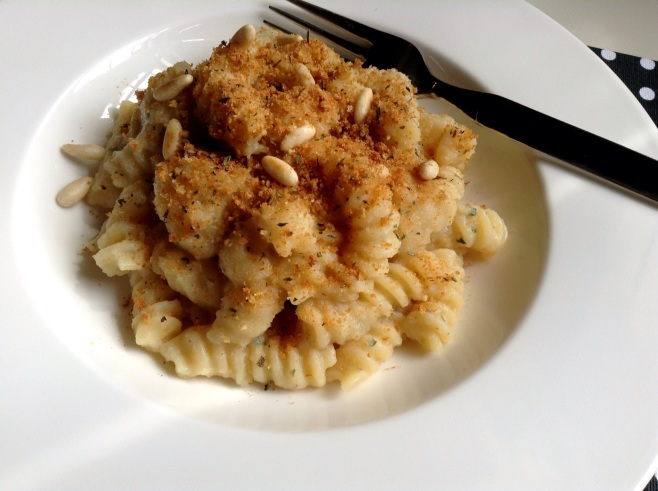 Creamy Cauliflower Fusilli
