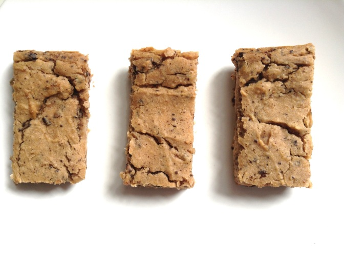 Chewy Chickpea Bars