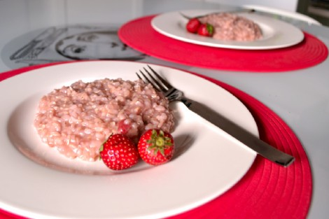 Strawberry Brown Rice Risotto 2