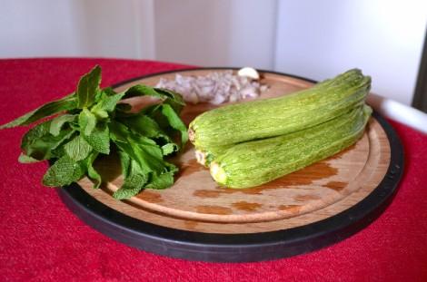 Zucchini & Mint