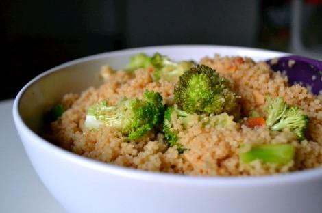 Couscous, Broccoli and Almond Salad (DSC_1153)