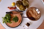 Lebanese Stuffed Grape Vine Leaves-Warak Arish (DSC_0168)