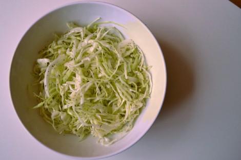 Mama's Lebanese Minted Cabbage Salad (DSC_1105)