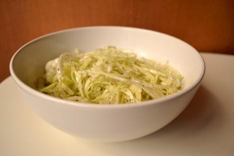 Mama's Lebanese Minted Cabbage Salad (DSC_1109)