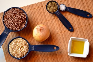Mujaddara Ingredients (DSC_1079)