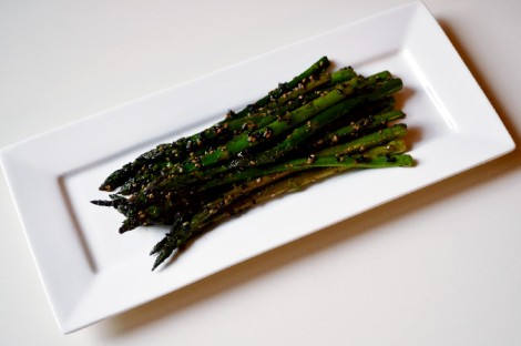 Sesame Soy Asparagus(DSC_0996)