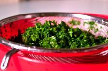 Chopped Fresh Parsley for Tabbouleh (DSC_0356)