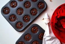Mini Chocolate-Coconut Donuts(DSC_0581)