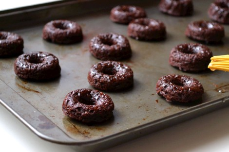Mini Chocolate-Coconut Donuts(DSC_0592)