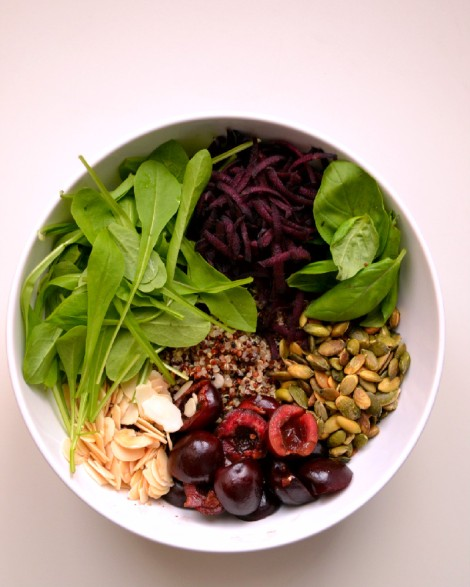 Quinoa Cherry Salad (DSC_0829)