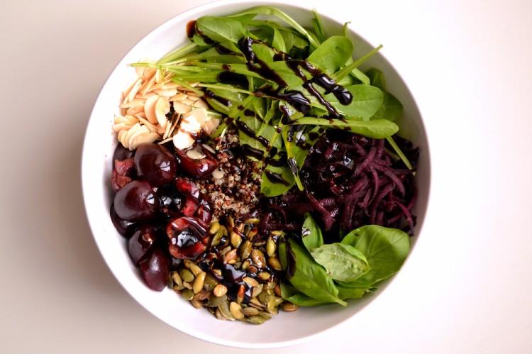 Quinoa Cherry Salad (DSC_0831)