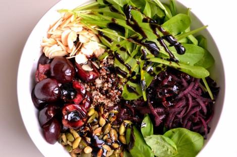 Quinoa Cherry Salad (DSC_0832)