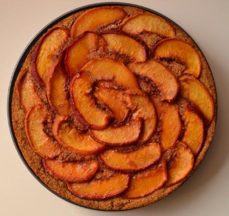 Caramelized Peach Cake (DSC_1012)
