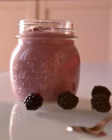 Creamy Raw Blackberry Buckwheat Porridge (DSC_0891)