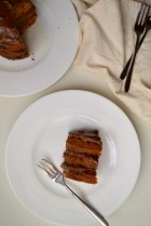 Kabocha Chocolate Mini Layer Cake with Avocado Cacao Buttercream (DSC_0093)