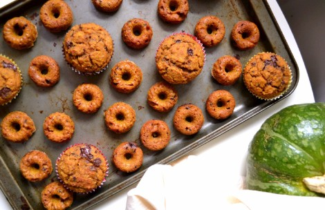Kabocha Chocolate Muffins & Mini Donuts (DSC_0051)