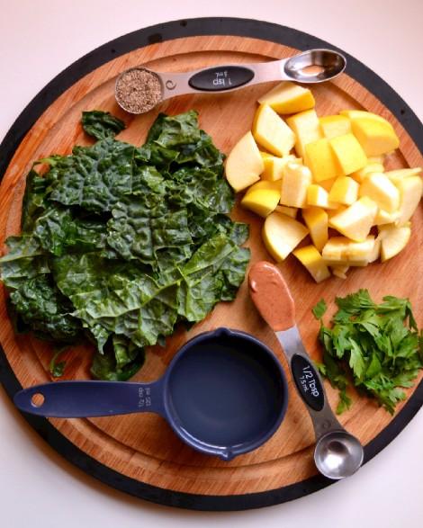 Kale Apple Smoothie(DSC_1026)
