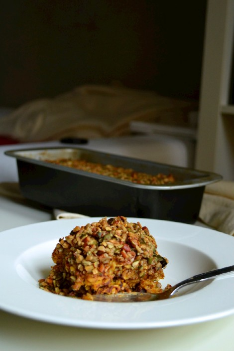 Baked Pumpkin Chocolate Oatmeal (DSC_0429)
