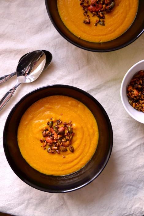Curried Coconut Carrot & Millet Soup (DSC_0369)