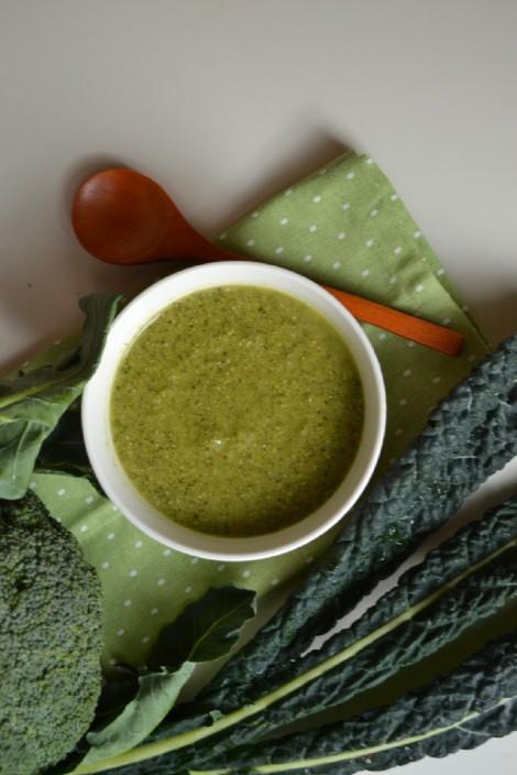 Creamy Broccoli & Kale Soup (DSC_1125)