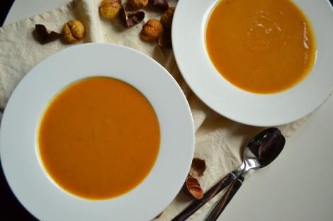 Roasted Butternut Squash & Chestnut Soup (DSC_0847)