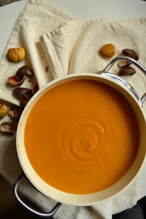 Roasted Butternut Squash & Chestnut Soup (DSC_0853)