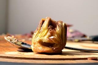 Artichoke Lasagne with Saffron Bechamel (DSC_0379)