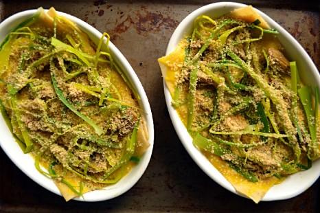 Artichoke Lasagne with Saffron Bechamel (DSC_0398)