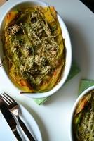 Artichoke Lasagne with Saffron Bechamel (DSC_0404)