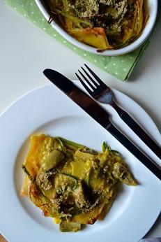 Artichoke Lasagne with Saffron Bechamel (DSC_0408)