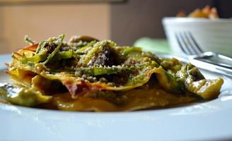 Artichoke Lasagne with Saffron Bechamel (DSC_0409)