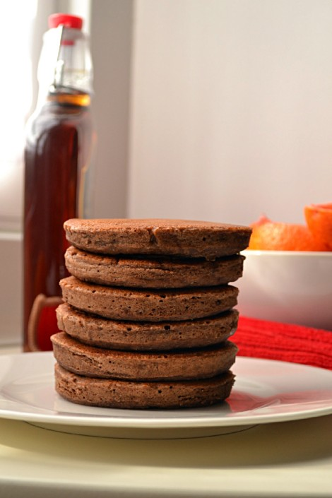 Blood Orange & Cacao Whole Spelt Pancakes (CSC_0257)