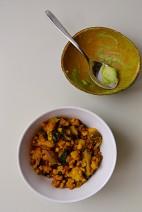 Tempeh Scramble Wrap & Salad (DSC_0665)
