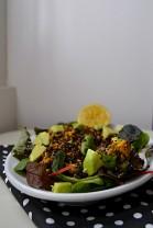 Tempeh Scramble Wrap & Salad (DSC_0741)