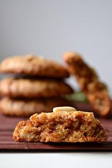 Vegan, Gluten Free, Rosemary Lemon Pine Nut Cookies (DSC_0494)