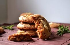 Vegan, Gluten Free, Rosemary Lemon Pine Nut Cookies (DSC_0500)