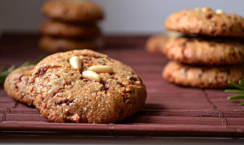 Vegan Orange Rosemary Cookies Recipe — Dishmaps