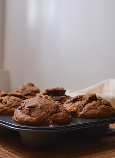 Banana Choc Chunk Muffins (DSC_0745)