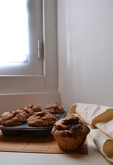 Banana Choc Chunk Muffins (DSC_0754)