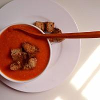 Creamy Tomato & Cannellini Soup