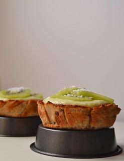 Lemon Coconut Curd & Kiwi Tartlettes (DSC_0931)
