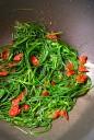 Quinoa Spaghetti with Agretti & Sundried Tomatoes (DSC_0946)