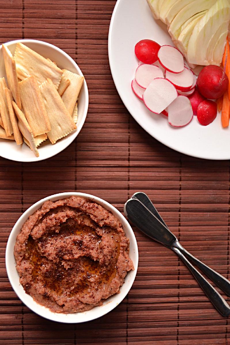 Sumac Roasted Carrot & Cannellini Bean Spread | Harmony à ...