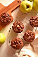 Apple Chestnut Muffins (DSC_0669)