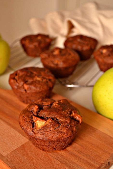 Apple Chestnut Muffins (DSC_0677)