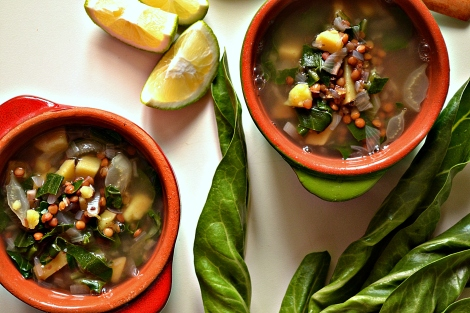 Lebanese Lentil & Chard Soup (DSC_0764)