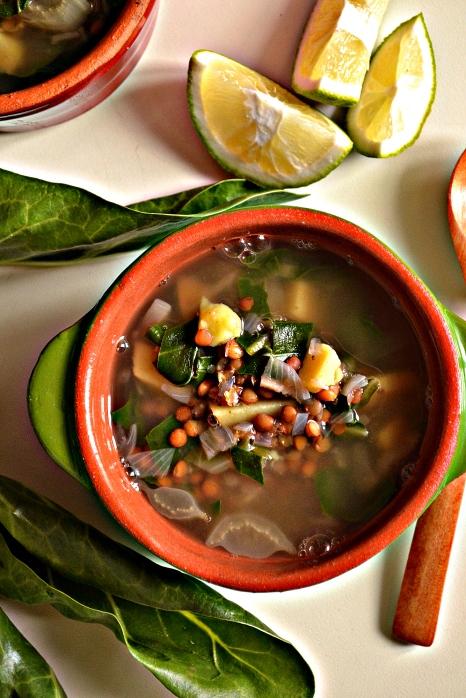Lebanese Lentil & Chard Soup (DSC_0765)