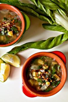 Lebanese Lentil & Chard Soup (DSC_0768)
