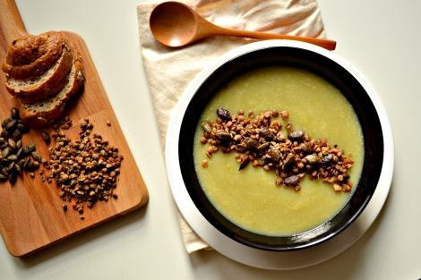 Sunchoke, Leek and Potato Soup (DSC_0917)